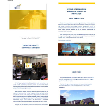 The second newsletter of the project