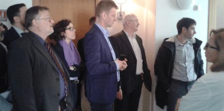 Integrantes del consorcio del proyecto TITTAN Interreg