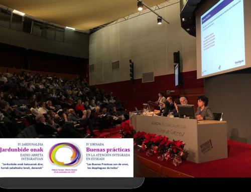 IV Jornada de Buenas Prácticas de Atención Integrada en Euskadi