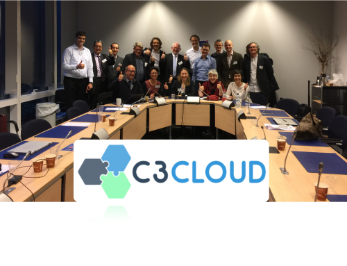 First C3-Cloud project review with the European Commission