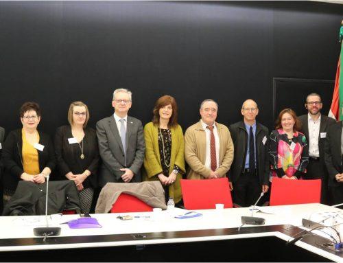 Una delegación de Alsacia visita Euskadi para conocer el modelo vasco de envejecimiento activo y saludable
