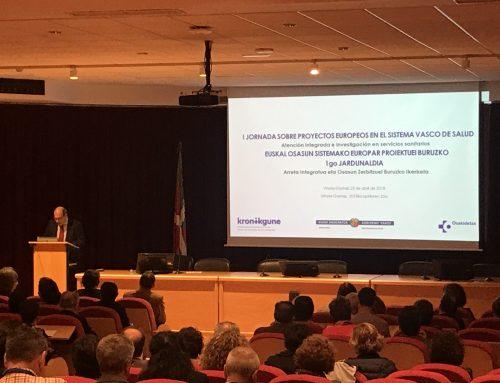 I Jornada sobre proyectos europeos en el Sistema Vasco de Salud
