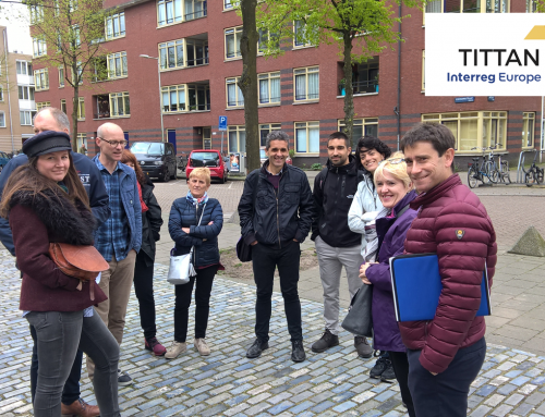 A Basque delegation visited Amsterdam and Almere as part of the European project TITTAN
