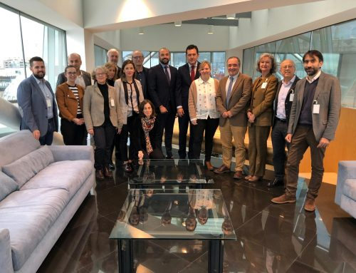 An Andalusian delegation visits the Basque Country to learn about the political framework and experiences regarding social and healthcare